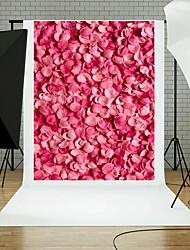 5x7ft цветок стены пол фотографии фон студия реквизит синий доска тема новый