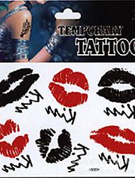 Temporary Tattoos Wrist Body Romantic Series 3D Rose Waterproof Tattoos Stickers Non Toxic Glitter Large Fake Tattoo Halloween Gift 22*15cm