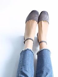 Women's Sandals Spring Comfort PU Casual Light Pink Light Grey