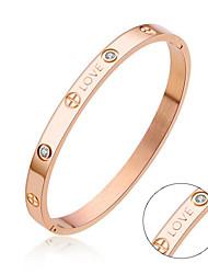 Armbänder-Edelstahl-Gold Silber Schwarz