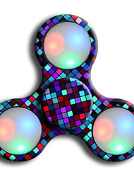 Spinners de mão Mão Spinner Brinquedos Girador de Anel LED Spinner ABS EDCO stress e ansiedade alívio Brinquedos de escritório Por matar