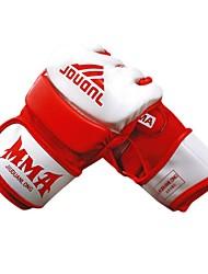 Luvas de Box Luvas para Treino de Box para Boxe Fitness Sem Dedo Respirável Permeável à Humidade Protecção