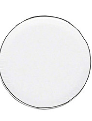 Universal Spare Tire Cover White 15inches