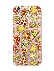 Назначение iPhone X iPhone 8 Чехлы панели Ультратонкий С узором Задняя крышка Кейс для Продукты питания Мягкий Термопластик для Apple