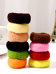 High-quality Hair Ornaments High Elasticity Durable Towel Cotton Belt With a Rope With Hair Band 15/3 Card