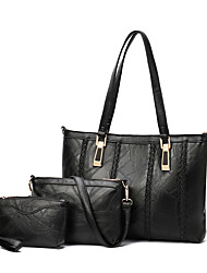 Ladies PU fashion single-shoulder treasure handbag