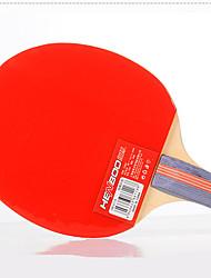 3 Stars Ping Pang/Table Tennis Rackets Ping Pang/Table Tennis Ball Ping Pang Wood Long Handle Pimples 3 Balls 2 RacketsIndoor Performance