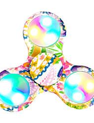 Toupies Fidget Spinner à main Jouets Tri-Spinner Plastique EDCPour le temps de tuer Focus Toy Soulage ADD, TDAH, Anxiété, Autisme
