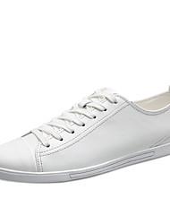 Herren Sneakers Frühjahr Herbst Komfort Leder casual schwarz weiß