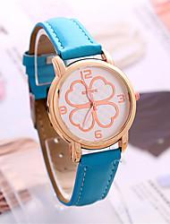 Mulheres Relógio de Moda Chinês Quartzo PU Banda Preta Azul Verde
