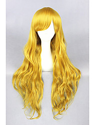Blonde Curl Beautiful Lolita 32inch wig CS-129A