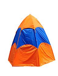 5-8 Personen Zelt Doppel Automatisches Zelt Einzimmer Camping Zelt 2000-3000 mm Oxford GlasfaserFeuchtigkeitsundurchlässig Wasserdicht