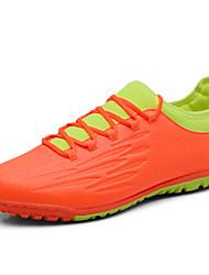 Men's Soccer Shoes Faux Leather Black / Blue / Orange/Grey/Green/Yellow