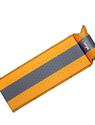 Moistureproof/Moisture Permeability Inflated Mat Sleeping Pad Yellow Camping Traveling