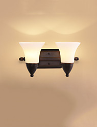е27 деревенского / домик черненая функции для глаз protectionambient света стены бра настенного светильника