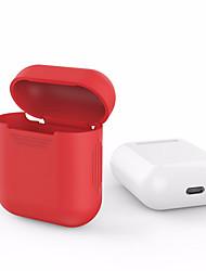 Для apple airpods airpods силиконовый прозрачный чехол защитный чехол сумка anti потерянный протектор элегантный рукав