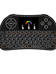 TZ P9 Colorful Version Wireless Mini Keyboard with Mouse Touchpad 2.4GHz Wireless