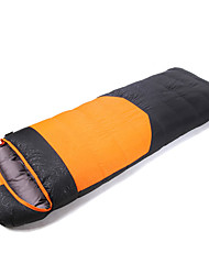 Schlafsack Rechteckiger Schlafsack Einzelbett(150 x 200 cm) -35-25 PolyesterX80 Camping Draußen warm halten