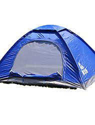 2 Pessoas Tenda Único Tenda Automática Um Quarto Barraca de acampamento 1000-1500 mm Fibra de Vidro OxfordÁ Prova de Humidade