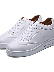 Unisex-Sneakers-Casual-pattini delle coppiePU (Poliuretano)-Bianco