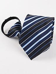 Cravate des hommes d'affaires bleu foncé