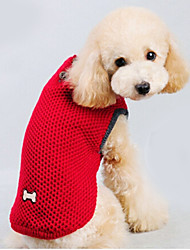 Cat / Dog Sweater Red / Blue Dog Clothes Winter Solid Keep Warm