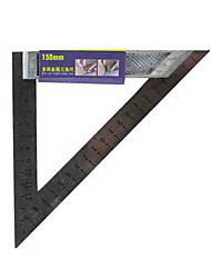 REAT WALL PRECISION® 200mm Metal Multifunctional Triangle Ruler Tool