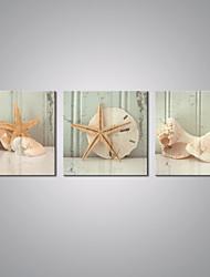 Estampados de Lonas Esticada Vida Imóvel Tradicional,3 Painéis Tela Horizontal Impressão artística Decoração de Parede For Decoração para