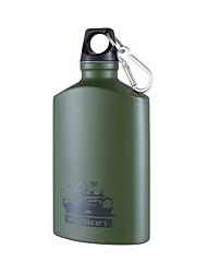 Alpinisme créatif bouteille de sport en plein air flacon en hanche en aluminium tasse d'eau froide