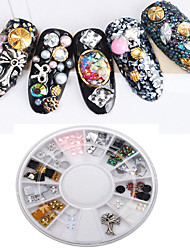 1PC Alloy Acrylic Drill Box Nail Art Act The Role Ofing is Tasted