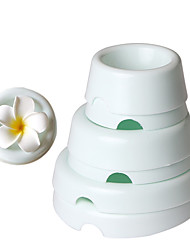 6Pcs/Set Plastic Cake Flower Drying Mold  Button Shape Gum Paste Fondant Cake Decorating Flower Forming Drying Moulds