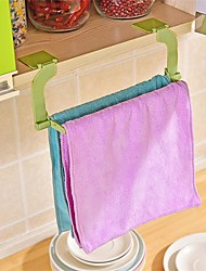 1Pcs  Seamless Paste Perforation Free Towel Rack Hanging Towel Kitchen Toilet Bathroom Towel Rack Random Color