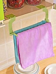 1pcs perforation en pâte sans soudure porte-serviette porte-serviettes porte-serviettes cuisine toilette porte-serviettes de toilette