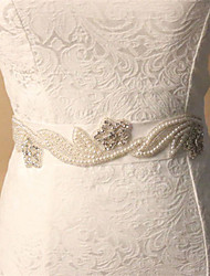 Wedding Accessories Appliqued Blossom Artificial Diamonds Handmade Manual Cutting Soft Satin Wedding Belts