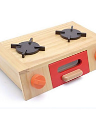 Pretend Play Kids' Cooking Appliances Square Wood Children's