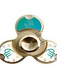 Spinner à main Jouets Ring Spinner Métal EDC Nouveautés & Farces