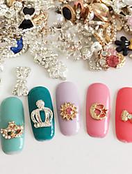 5PCS Crystal Alloy Nail Art Decoration Style Random