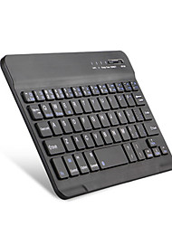 7 polegadas mini teclado sem fio bluetooth para ios / android / windows bluetooth 3.0 preto / branco com cabo usb