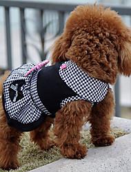 Perros Vestidos Ropa para Perro Invierno Verano Primavera/Otoño PrincesaAdorable Moda Casual/Diario Deportes Clásico Boda Cumpleaños