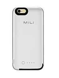 Mili powercore case forbattery case avec 3500mah batterie supplémentaire apple mfi certified iphone 6 6s