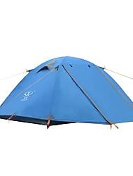 2 Pessoas Tenda Duplo Barraca de acampamento Á Prova-de-Chuva Ultra Leve (UL) para Campismo Viajar CM Um Quarto