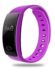 Lemfo qs80 bracelete inteligente / smartwatch / bluetooth 4.0 wristband monitor de frequência cardíaca monitor de aptidão de sono para ios