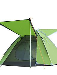2 Personas Tienda Solo Carpa para camping Una Habitación Tienda pop up A Prueba de Humedad Impermeable Resistente al Viento Resistente a