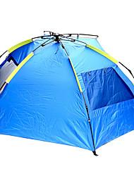 2 Personen Zelt Einzeln Automatisches Zelt Einzimmer Camping Zelt 1000-1500 mm Oxford GlasfaserFeuchtigkeitsundurchlässig Wasserdicht