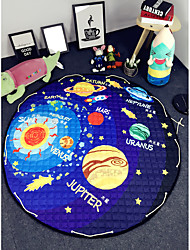 Planet Toy Storage Bag diameter 1.5m baby Crawling multifunctional round blanket Play Rug/Mat/Carpet