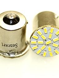 Sencart 10pcs 1156 p21w ba15s r10w 22x3014 вел автомобиль дневной свет идущего света автоматический бортовой индикаторные лампочки