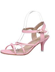 Women's Heels Spring Summer Club Shoes Glitter Wedding Party & Evening Dress Casual Platform Sequin Buckle