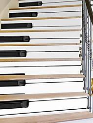 Musique Stickers muraux Autocollants muraux 3D Autocollants muraux décoratifs,Vinyle Matériel Décoration d'intérieur Calque Mural