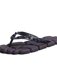 Men's Slippers & Flip-Flops Walking Light Soles Couple Shoes Customized Materials Spring Summer Casual Outdoor Black Brown Ruby Blue