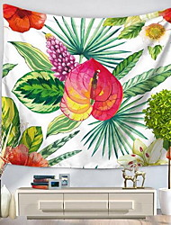 Wall Decor 100% Polyester Patterned Nature Inspired Wall Art,1